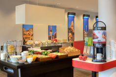 buffet at MEININGER Hotel Berlin Central Station
