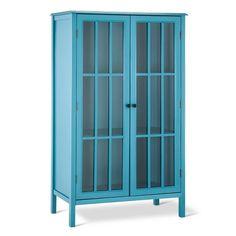 Windham Library Storage Cabinet Teal - Threshold™ : Target