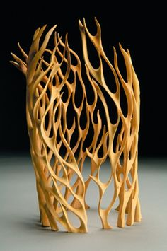 Untitled two piece set, 2005, by Neil Turner; Sandalwood