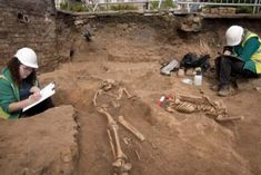 Sixty Roman skeletons found beneath hotel swimming pool in York. Hotel Swimming Pool, Roman Britain, York Hotels, Skeletons, Yorkshire, Roman Empire, Skeleton, Skulls, Yorkshire England