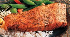 Salmon is a popular fish that's healthy too. Enjoy this easy way to prepare salmon that adds extra flavor but not extra calories.