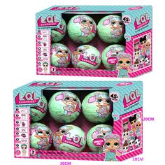 Dashing 3pcs 3 Balls / Dolls Authentic Lol Surprise Doll Series 1 Excellent In Cushion Effect