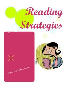 Reading Strategies Guide - contains almost 40 pages of step-by-step reading strategies, adaptations for lessons, guided and cued questions, and more!  Perfect for reading interventions, guided reading, reading workshop, parent handouts, and RTI.
