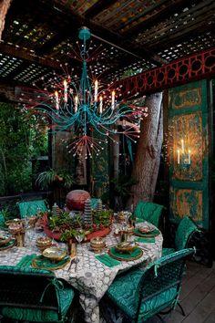 tony duquette splashing water chandelier via kishani perera blog