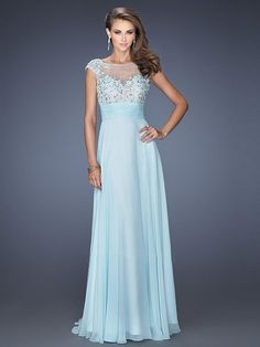 Shop Wonderful Scoop Neckline Mesh Illusion Open Back Beaded Prom Dresses  Online affordable for each occasion. Latest design party dresses and gowns  on sale ... 859a8aeded18