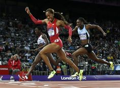 Day 9: Track & Field - Sanya Richards-Ross (USA) wins gold in the women's 400m.
