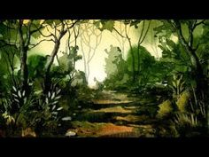 Woodland Watercolour Painting Demonstration - YouTube