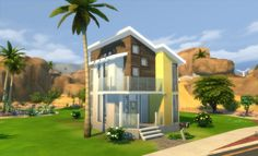 Daffodil Diggings Starter by The Builder at Mod The Sims via Sims 4 Updates