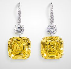 Rosamaria G Frangini | High Yellow Jewellery | TJS | GRAFF: The Gemini Yellows, 2005. 51.29 and 55.74 carats.