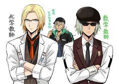 Eizen, Zaveid & Dezel (School Suits) | Tales of Berseria/Zestiria || #anime #animeboys #talesofberseria #talesofseries #talesofzestiria #eizen #zaveid #dezel #fanart #videogame #game