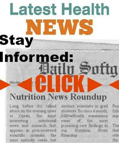 "Latest Health News - Latest Nutrition News ►◄ Daily Updates on Health and Nutrition Research - SEE PAGE 3 ►◄: The act of understanding may reward the brain with natural opium-like substances and may explain the ""thirst for knowledge."" Children with ADHD performed better on classroom work if they were sitting on activity balls or exercise bikes.Latest Health News Latest Nutrition News Antidepressant use during pregnancy is significantly linked to higher rates of anxiety in children. Human…"