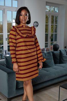 African Fashion Ankara, Latest African Fashion Dresses, African Print Fashion, Africa Fashion, Short African Dresses, Ankara Short Gown Styles, African Print Dresses, African Prints, African Fabric