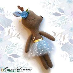 Deer plush in tull skirt #deer #magic #plush #DIY #Handmade #Animal
