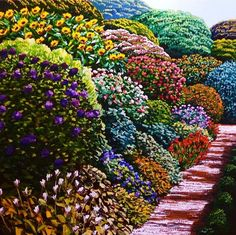 View Bunnythorpe Road by Karl Maughan at Page Galleries in Wellington, New Zealand. Discover more artworks by Karl Maughan on Ocula now. Seaside Garden, New Zealand Art, Nz Art, Creative Background, Garden Painting, Source Of Inspiration, Contemporary Artists, Art Gallery, Landscape