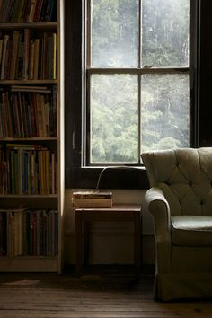 Sitting on a comfy chair reading a good book by a window. Yes