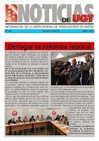 REDACCIÓN SINDICAL MADRID: Nueva edición de la revista digital Noticias de UG...