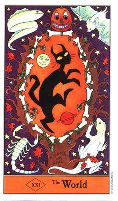 Halloween Tarot - The World