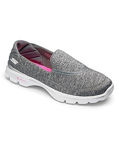 Skechers Go Walk 3 Trainers Std Fit | Fashion World