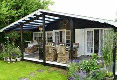 Где взять проекты дачных домиков? Для вас 5 современных проектов для маленького…