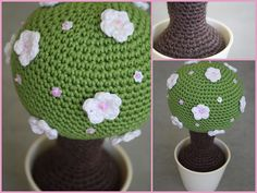 #amigurumi #crochet tree! Mothers day ideas ?? Think this is kind of cute and fun!