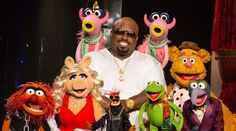 """CeeLo and the Muppets rocked the house last night at Planet Hollywood in Las Vegas when Kermit, Miss Piggy and the gang joined the Grammy Award winner in concert to perform their new holiday hit """"All I Need Is Love"""" from CeeLo's forthcoming holiday album """"CeeLo's Magic Moment,"""" which drops October 30th."""