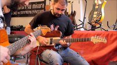 Bedini Custom Guitars al MAF 2014 Andrea Gaioni Jam