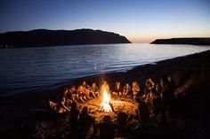 Bonfires on the beach <3
