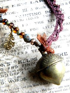 twilight acorn. in my woodland jewelries Etsy shop.