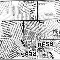 Newspaper - fede 7,5x15,0 cm fliser til væg