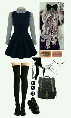 Comfy Outfits for School: Best for Cute and Stylish Look - Wewer Fashion Mode Outfits, Girl Outfits, Casual Outfits, Fashion Outfits, Pastel Goth Outfits, Lazy Outfits, Kawaii Fashion, Cute Fashion, Pastel Fashion