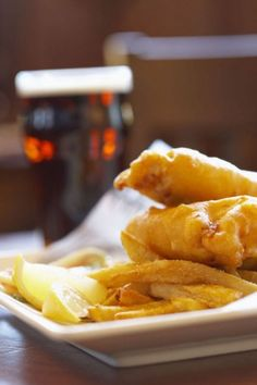 Fish and Chips in Beer Batter would taste great for dinner tomorrow. This copycat recipe tastes just like something you could order at your favorite restaurant. You'll want to make this fish recipe over and over again.