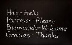 speak spanish!