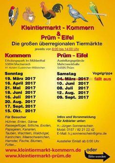 Kleintiermarkt-Kommern  &   Prüm-Eifel