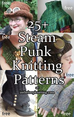 Steampunk Inspired Knitting Patterns