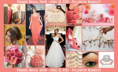 You're invited to attend North Orange County's Premier Bridal Show at the Fullerton Marriott on April 12, 2015.  Shop and compare local,  top quality wedding professionals at this Boutique Bridal Event.  Enjoy champagne and hors d'oeuvres while exploring the best options for your wedding day. Free diamond ring keychain to the first 50 brides attending this event.  For tickets visit www.premierbridalshows.com