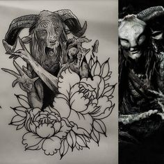 Available faun from pans labyrinth design A5 size £180 on leg or arm email below to book this or something similar Skinsandneedles@live.co.uk ——————————————————————————– #watsonsith #taot #darkartists #blxckink #skinsandneedles #blackwork...