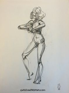 Some Figure Drawings from last week. (½) -Norm