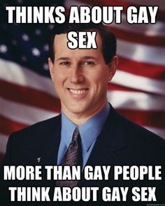 Senator Santorum: the gift that keeps on giving.