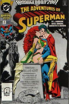 Maxima and Superman DC Comics