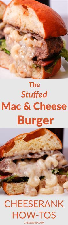 Mac & Cheese BurgerINGREDIENTS1 cup of your favorite leftover mac ...