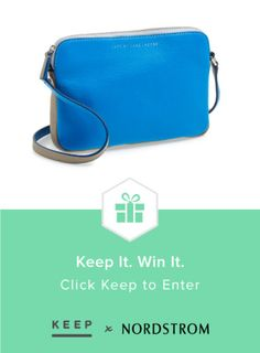 Win a must-have @MarcByMarcJacobs bag from @Keep & @Nordstrom! #keepitwinit