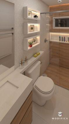Diy home decor Diy home decor Washroom Design, Bathroom Design Luxury, Bathroom Layout, Modern Bathroom Design, Small Bathroom, Toilette Design, Bad Styling, Home Design Decor, Home Decor
