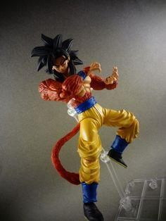 S.H Figuarts Super Saiyan 4 Goku (Dragonball Z) Custom Action Figure #SonGokuKakarot