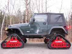 Jeep TJ on TRAX
