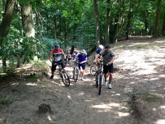 The Bootcamp Club goes... Mountainbiken!