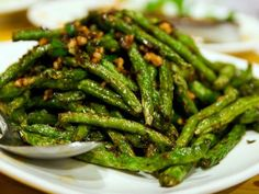 The Sichuan Stir-Fried Chinese Long Beans Recipe is an Outstanding Addition to Any Meal or Make as a Meal by Itself - My All-Time Favorite Dish - Read More