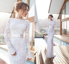 new-2015-vintage-lace-wedding-dresses-sheath