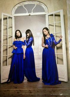 "Kalafina LIVE THE BEST 2015 ""Red Day"" & ""Blue Day"" Poster Set"