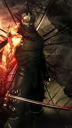 Ryu Hayabusa, Ninja Gaiden, Shadow Warrior, Spiderman, Doa, Anime, Fictional Characters, Character Ideas, Spider Man