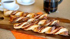Pumpkin Twists recipe from Maurices Treats in Disneyland